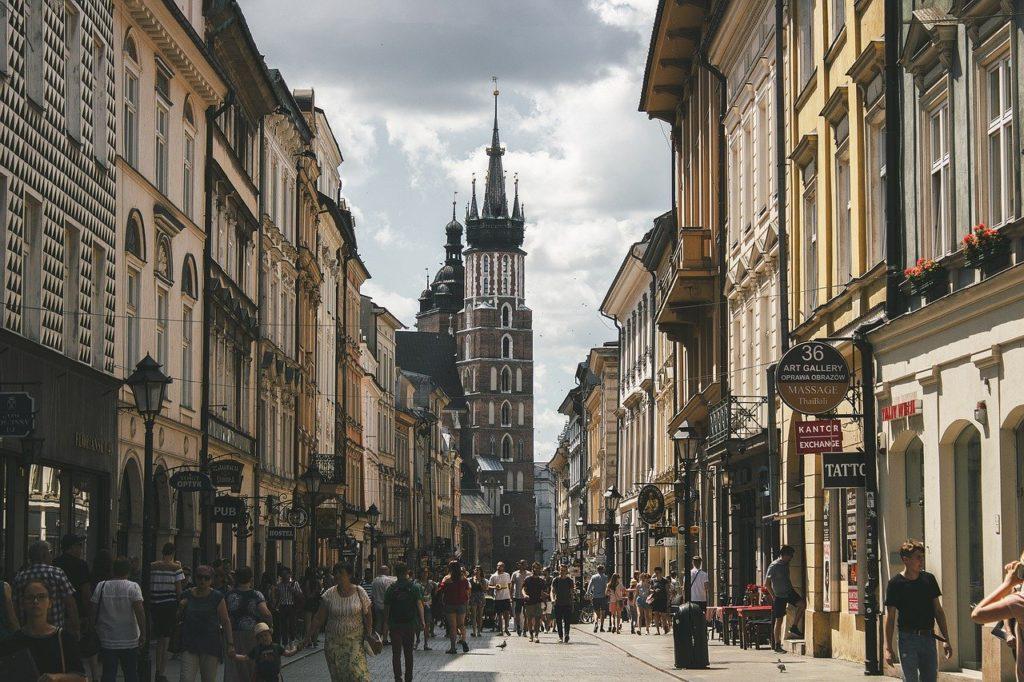 interrailing in Poland - Krakow