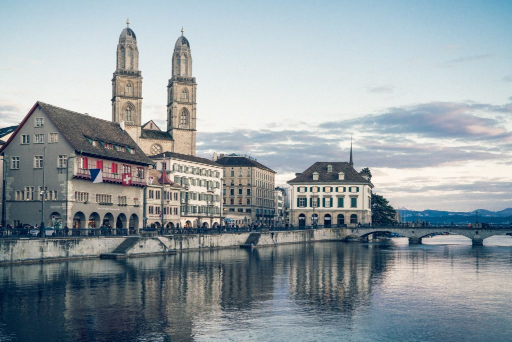 Interrailing in Switzerland - Zurich