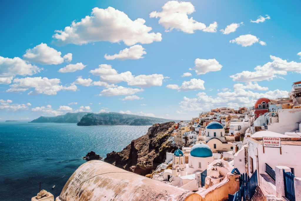 Santorini, one of the most beautiful Greek Islands