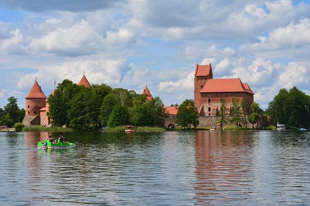 Baltic views at Trakai